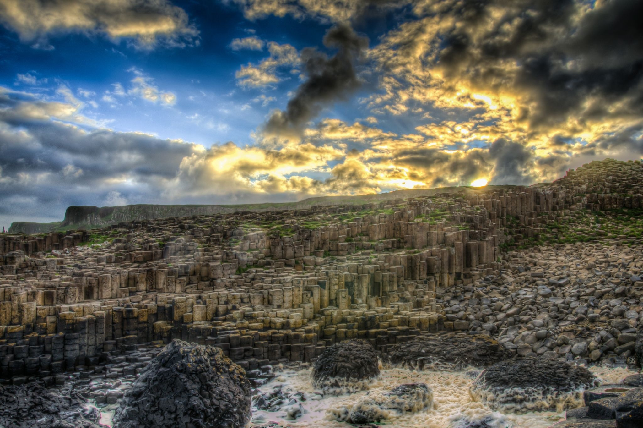 A Private Viewing of the Giant's Causeway