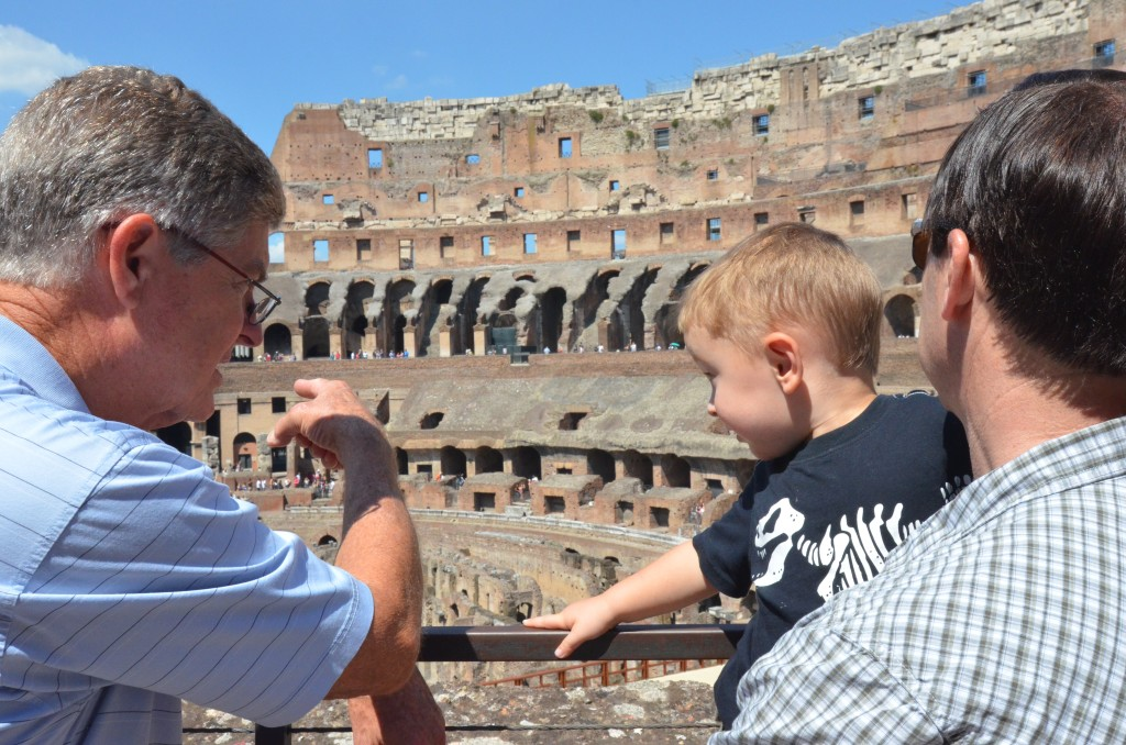 Losing My Firstborn in the Colosseum
